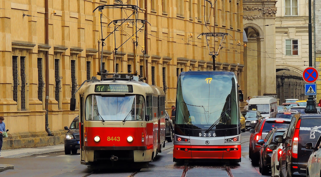 Prague-Trams